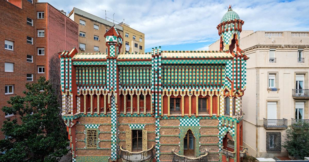 Casa vicens gaud gaud 39 s first house in barcelona - Casa vives gaudi ...